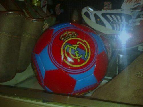 Real Madrid con los colores del Barça