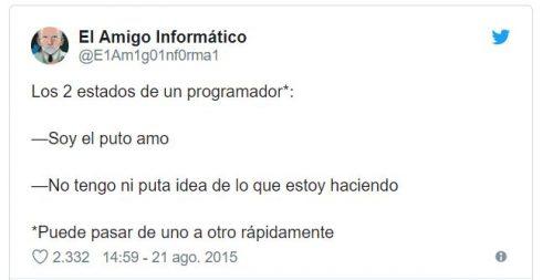 Estados de un programador