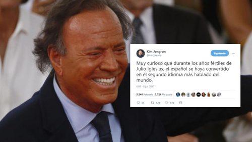 Julio Iglesias y el castellano. Chistes sobre música