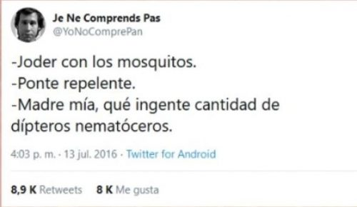 mosquito - Chistes sobre animales