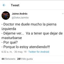 Chistes de médicos y sanitarios. Masturbándose